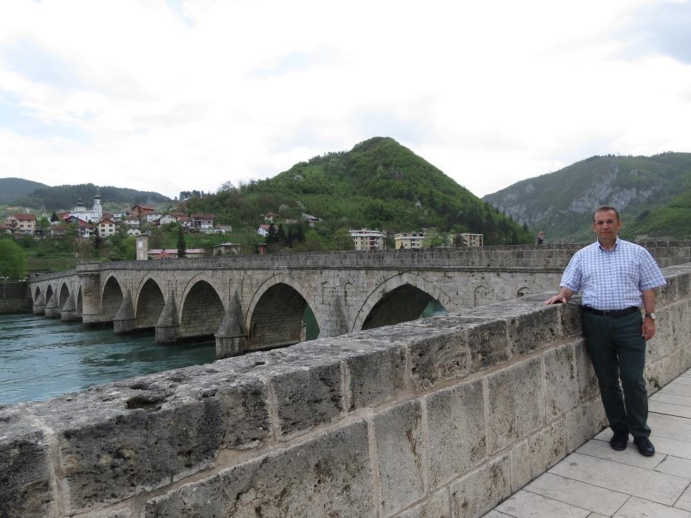 Vişegrad'daki Drina Köprüsü