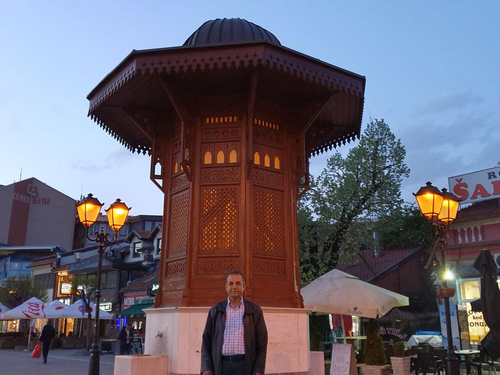 Saraybosna Sebili'nin Yeni Pazar'daki replikası