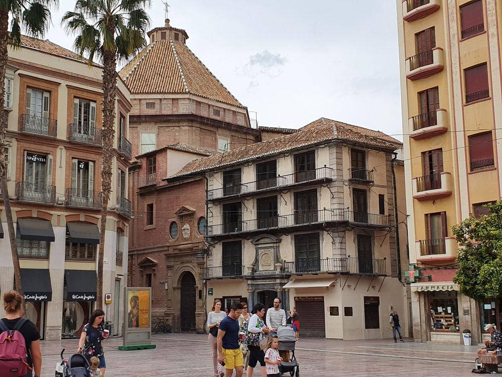 Bir Malaga manzarası