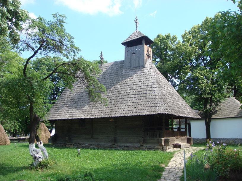 Köy Müzesi'nde kırsal bir kilise örneği