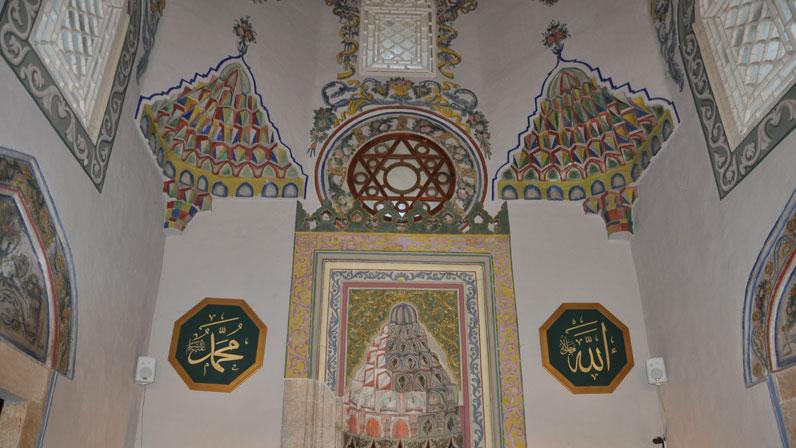 Sinan Paşa Camii'nin iç süslemeleri