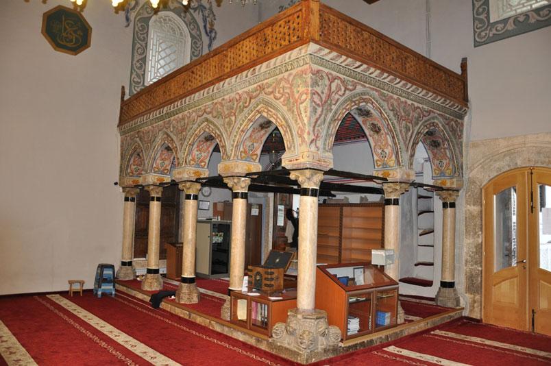 Prizren Sinan Paşa Camii'nin müezzin mahfili