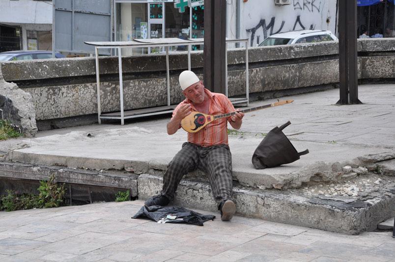 Üsküp'ün mahalli sanatçısı