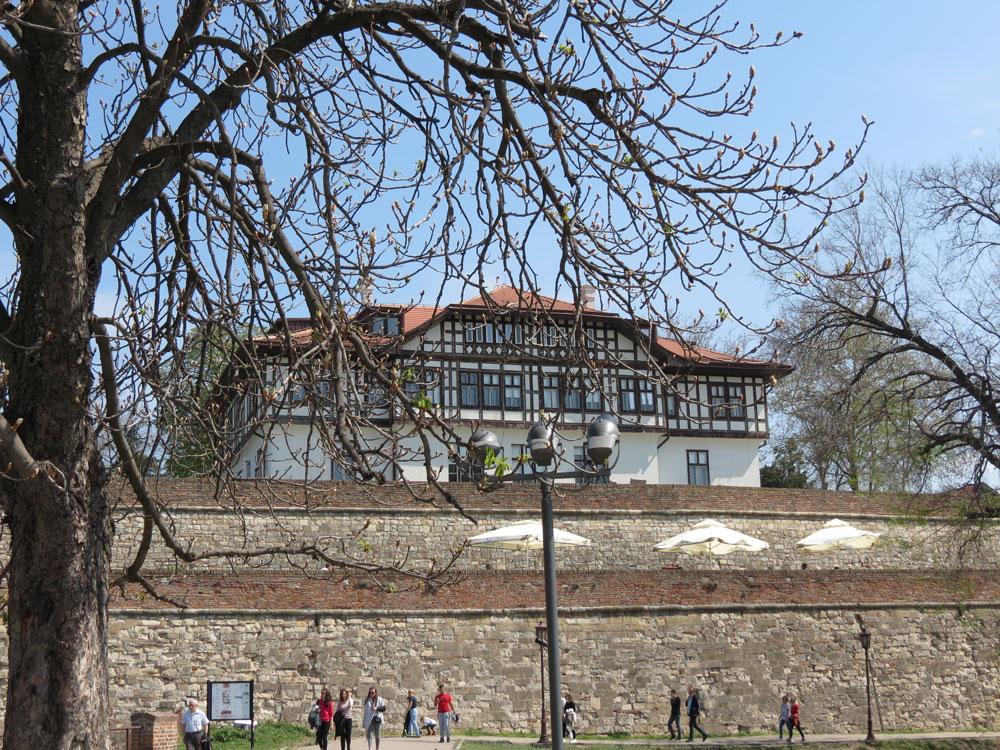Kale içerisinde Kültürel Eserleri Koruma Enstitüsü