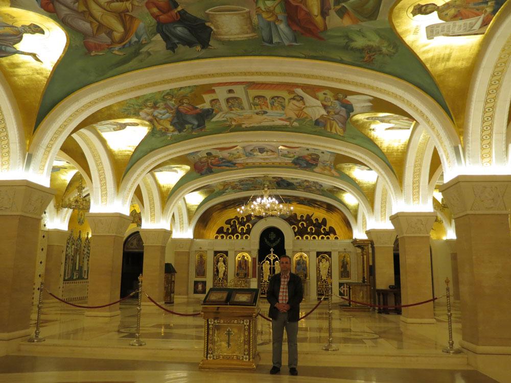 Aziz Sava Katedrali'nin içi