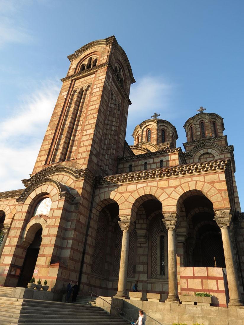 Belgrad'da Aziz Marko Kilisesi