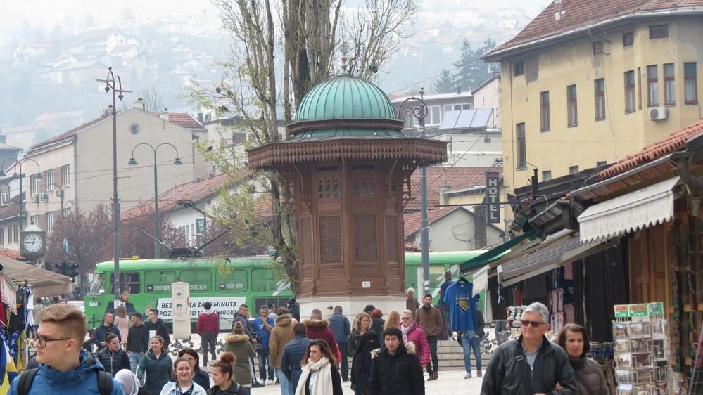 Saraybosna'nın sembolü haline gelen Sebil