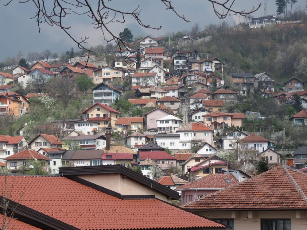 Bir Saraybosna manzarası