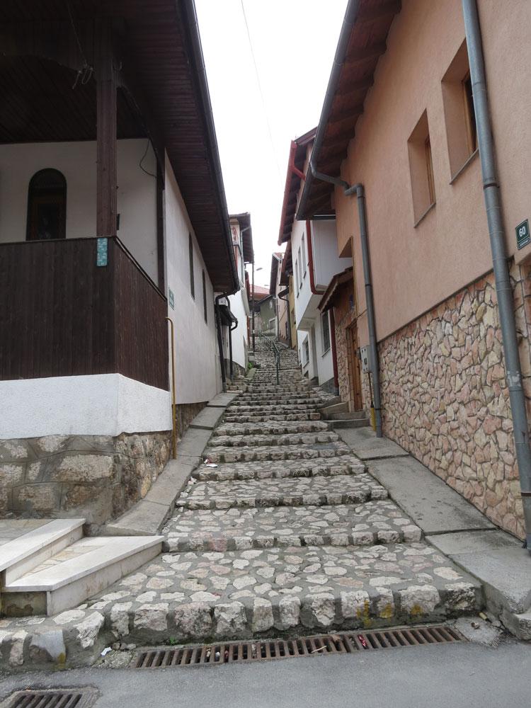 Saraybosna sokakları