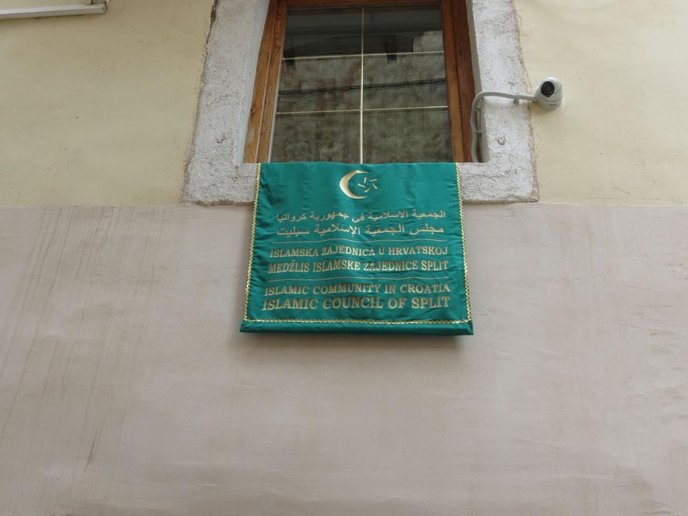 Split'in göbeğinde İslam Merkezi