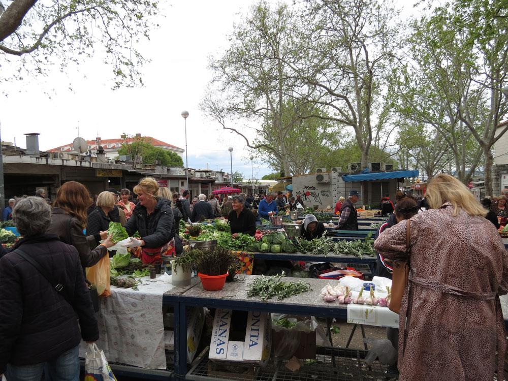 Split'te Pazar Yeri