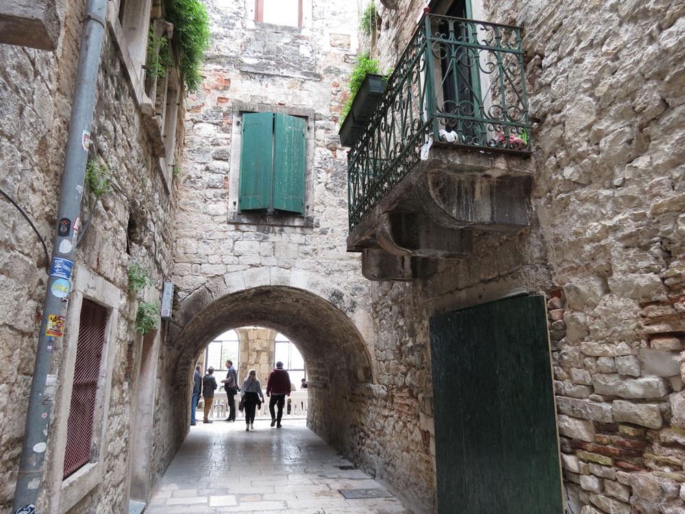 Burası da Split'in Eski Şehri