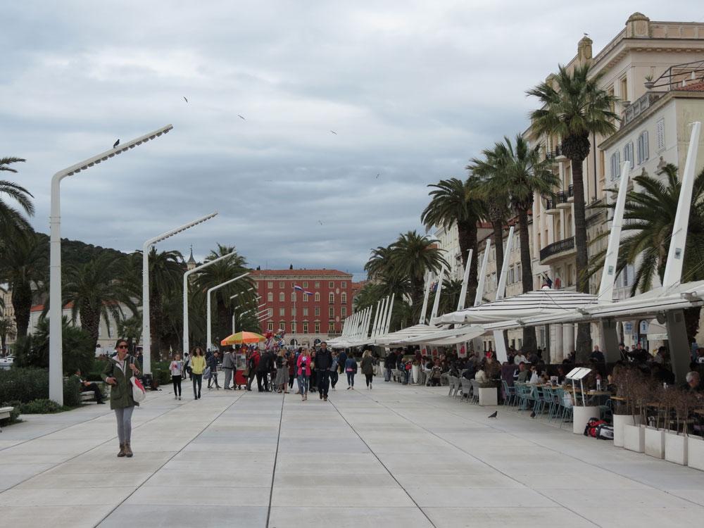 Split'teki Kordon: Riva