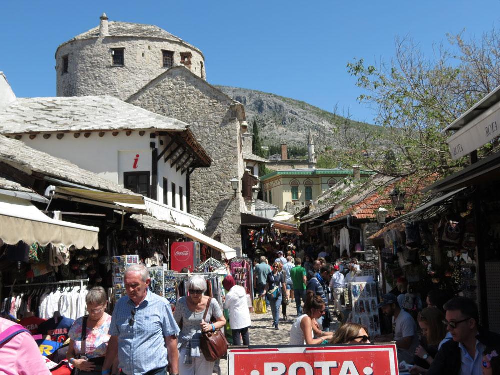 Mostar'ın Eski Şehir bölgesi