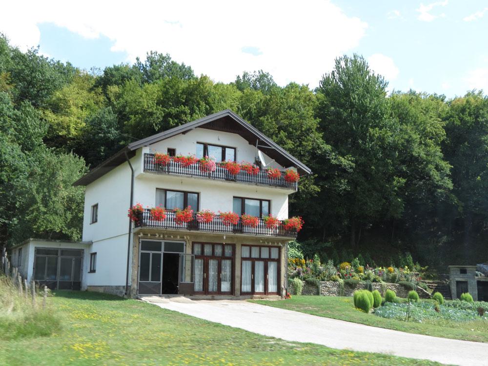 Bosna'nın tipik evlerinden biri