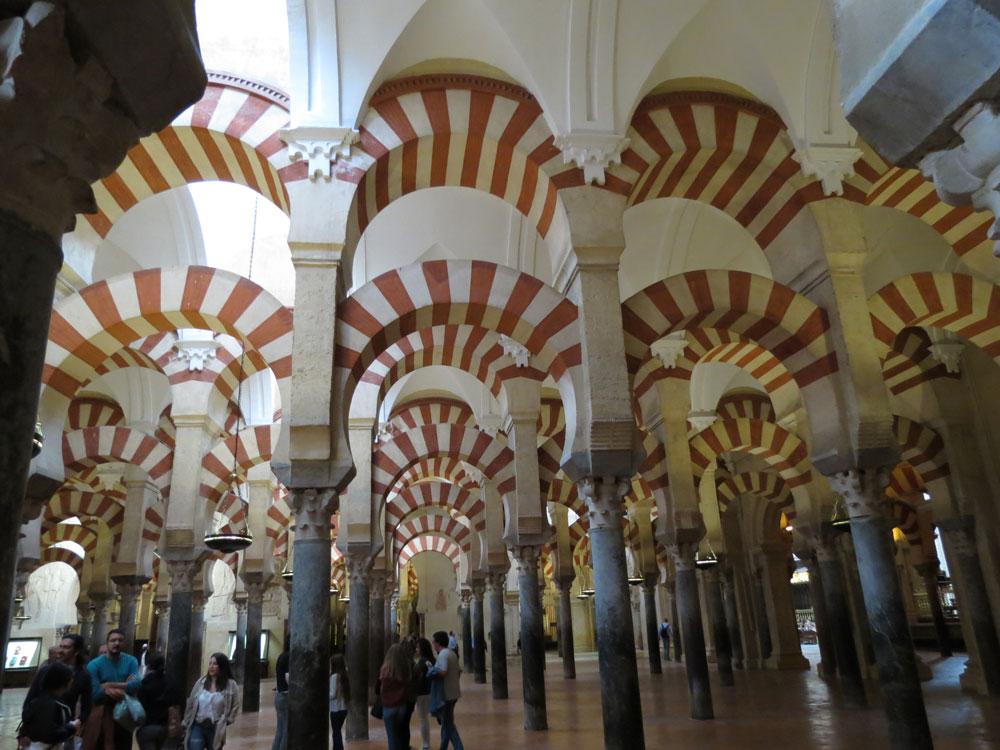 Kurtuba Camii'nin içi