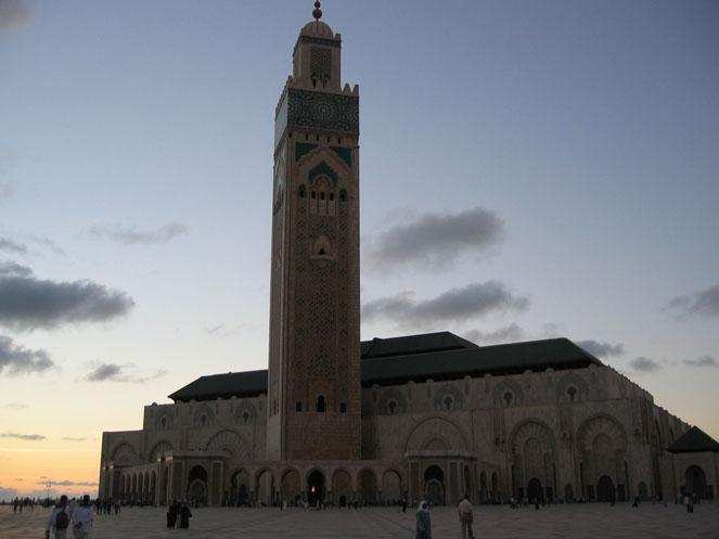 Kazablanka'da II. Hasan Camii
