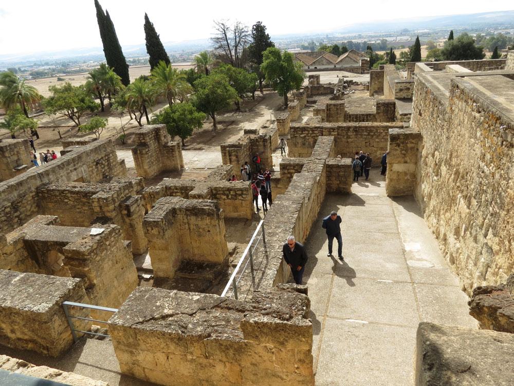 Medinetü'z-Zehra'nın kazısı yapılmış bir bölgesi