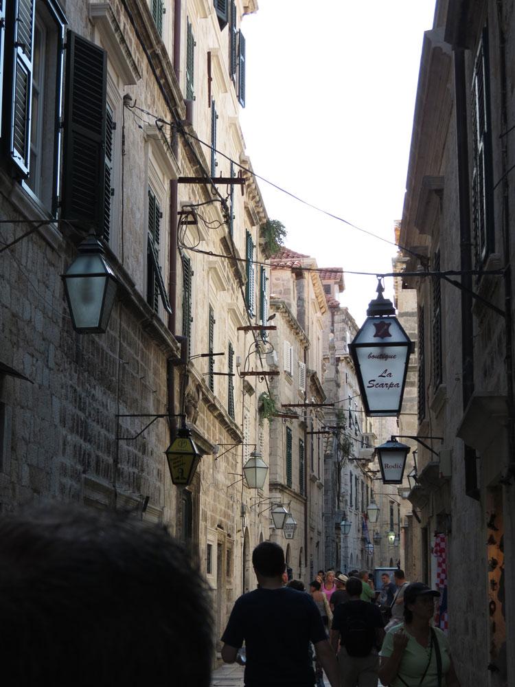 Eski Şehrin sokakları
