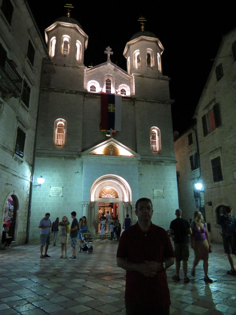 Karadağ Kotor'da Eski Şehir bölgesi