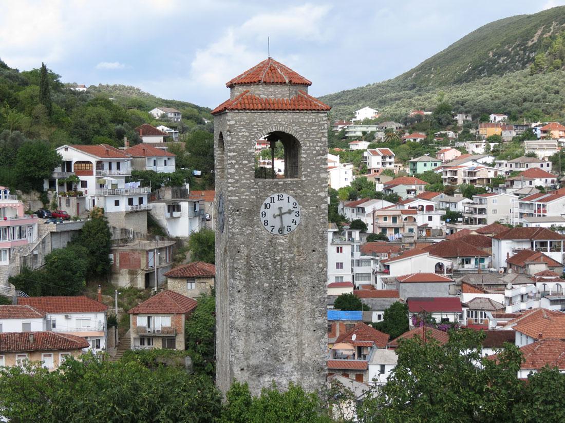 Karadağ'da Ulçin Saat Kulesi