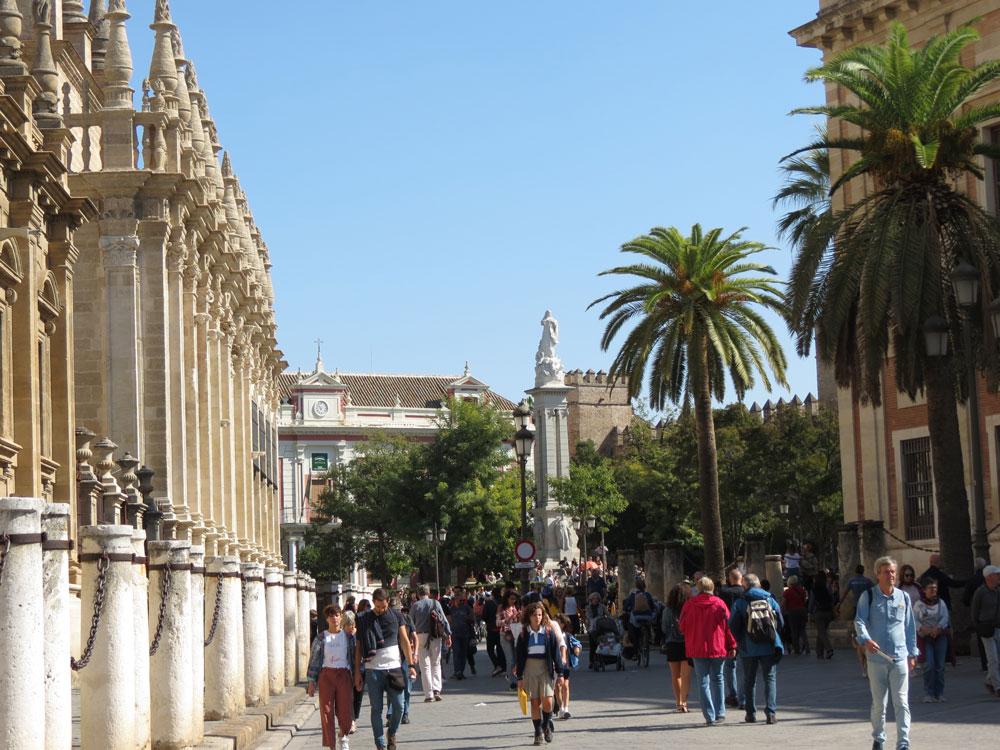 Sevilla'dan bir görünüm
