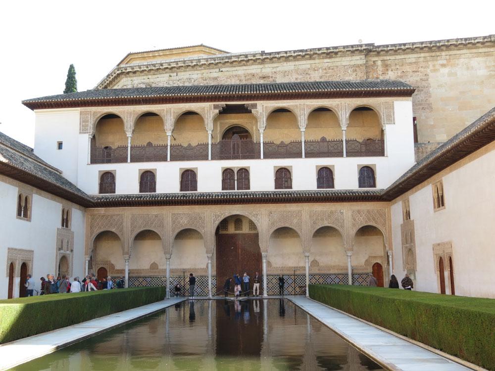 Elhamra Sarayı'ndan bir görünüm