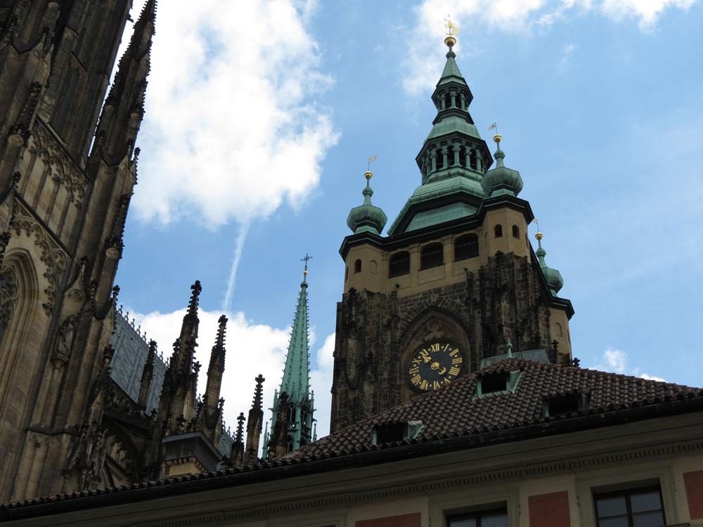 Prag Kalesi'nde Aziz Vitus Katedrali