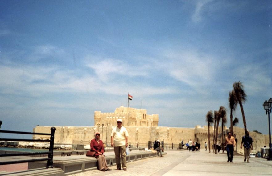İskenderiye'de Kayıtbay Kalesi