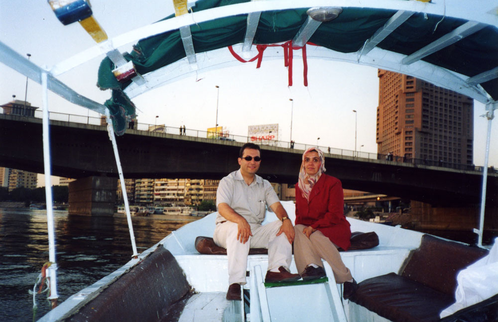 Nil'de tekne keyfi