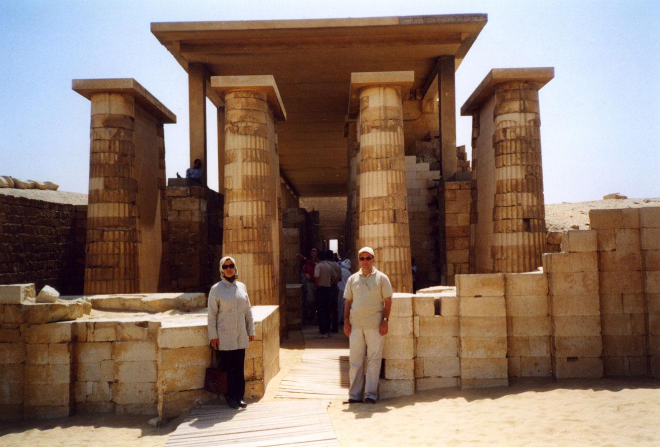 Sakkara'daki Tapınak
