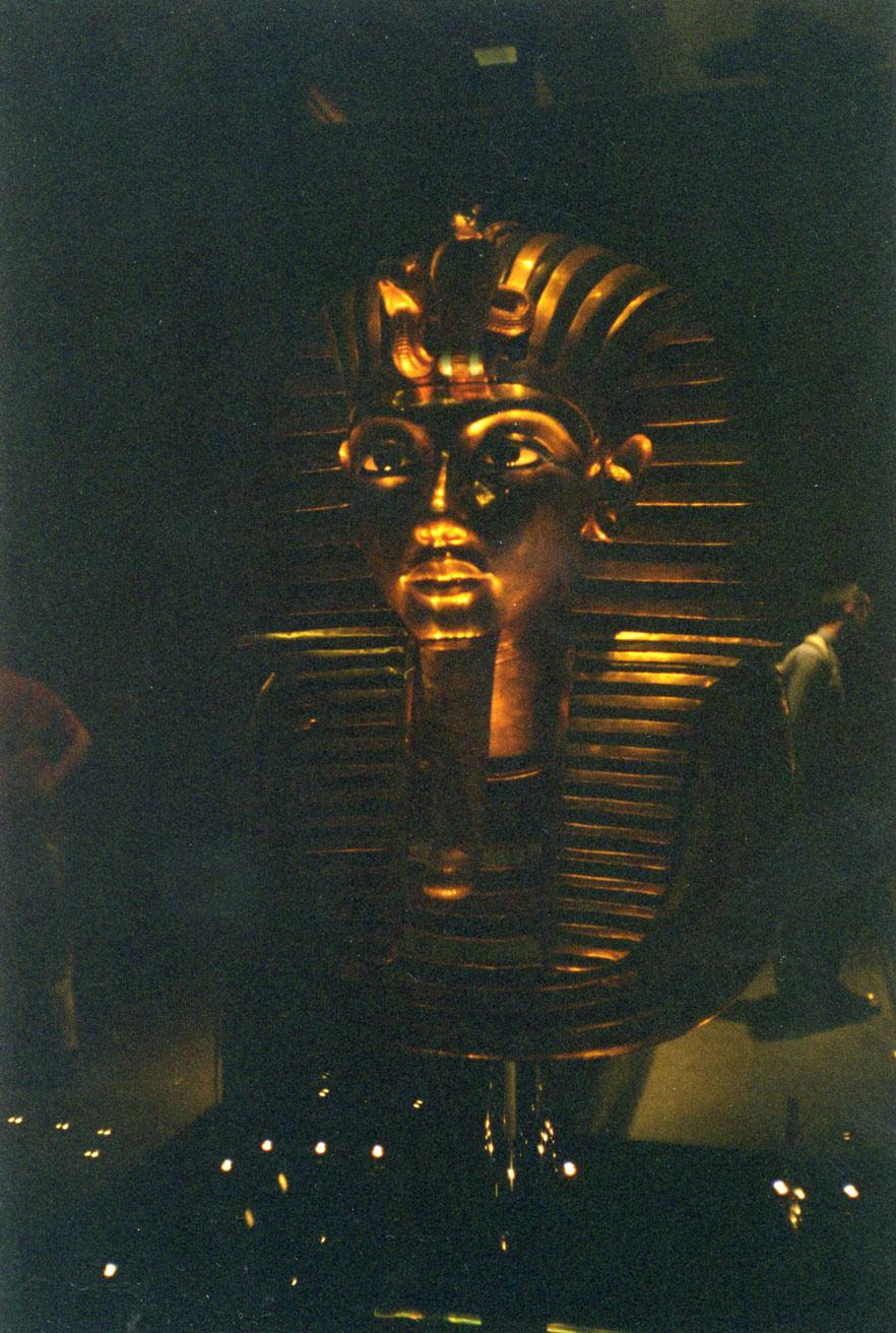 Tutankhamon'un Altın Maskı