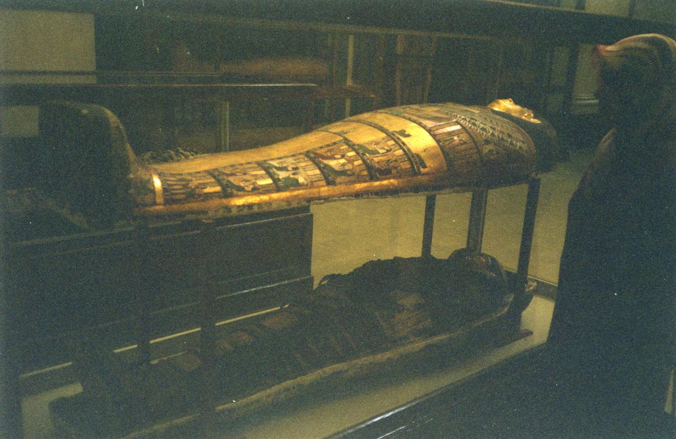 Mısır Müzesi'nde mumyalar