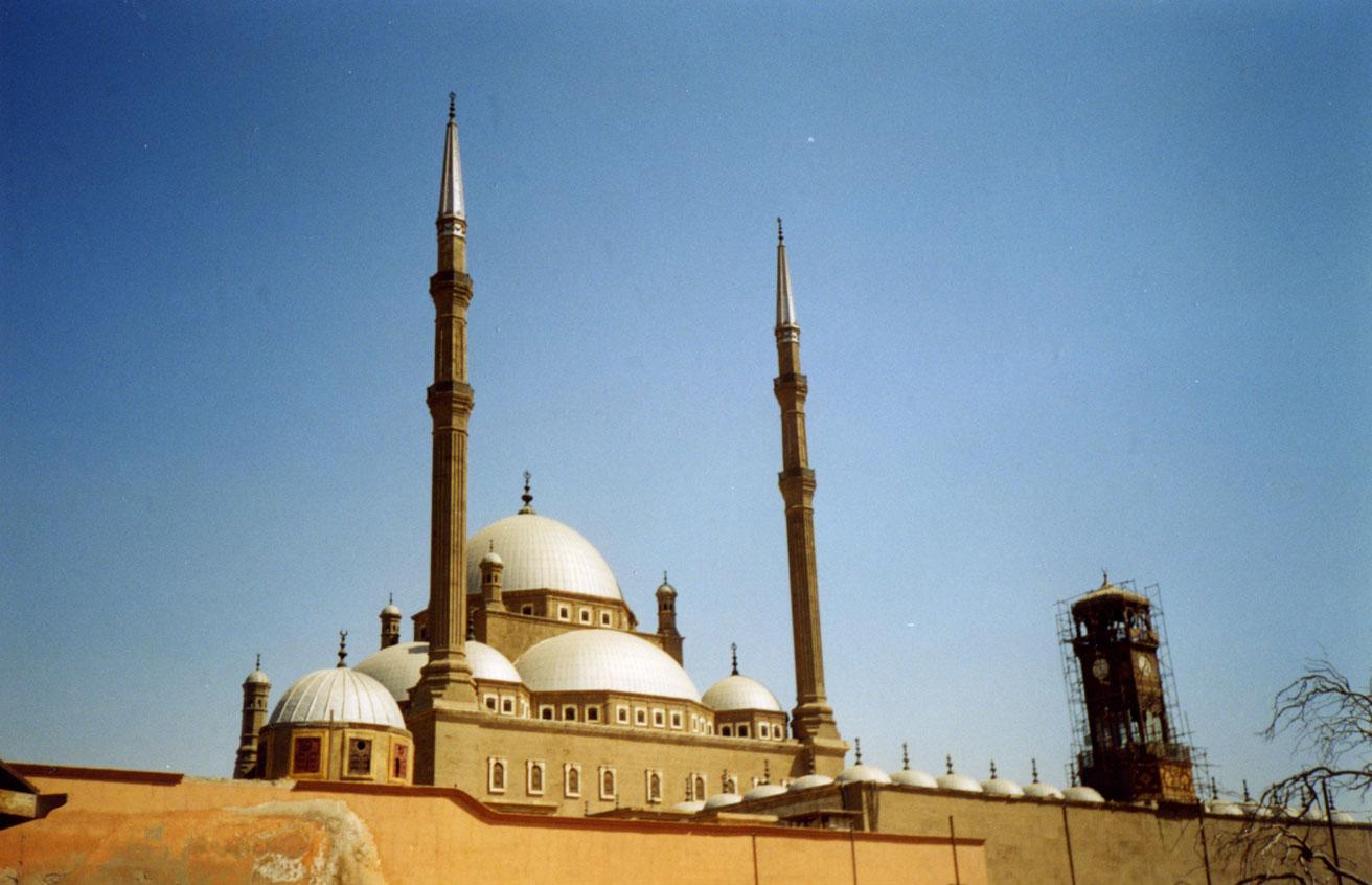 Kahire Kalesi'nde Mehmed Ali Paşa Camii
