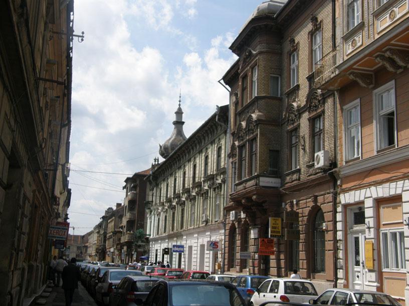 Temeşvar'ın tarihi bölgesi