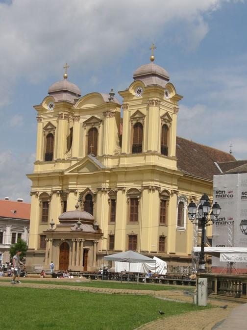 Temeşvar'da Roma Katolik Kilisesi