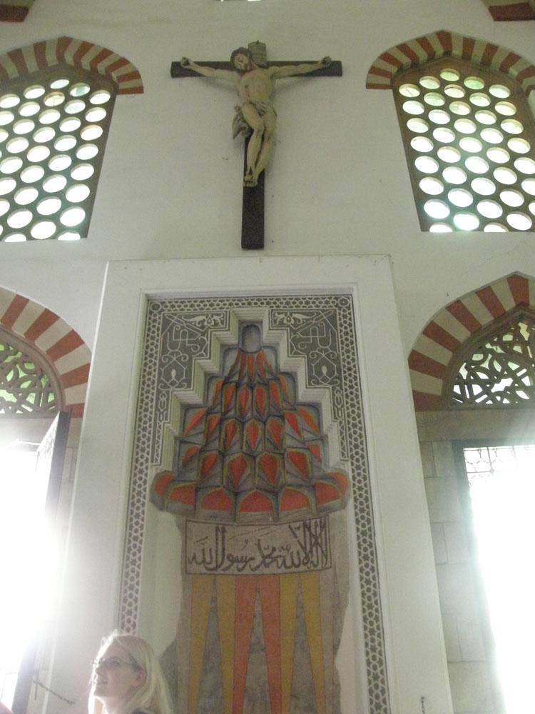 Gazi Kasım Paşa Camii'nin mihrabı