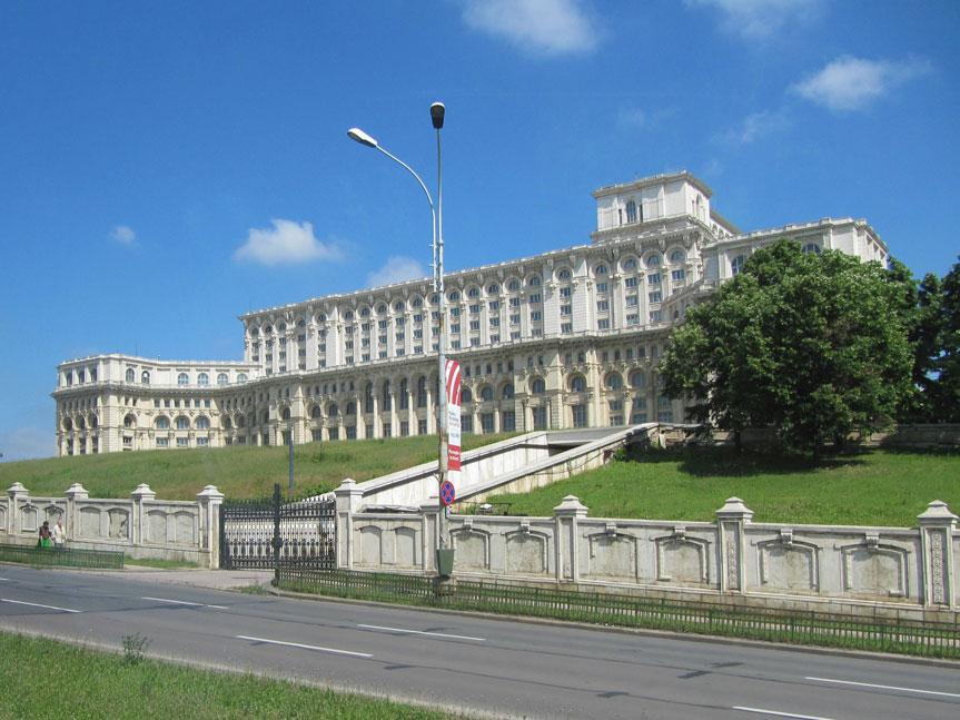 Romanya Parlamentosu, nam-ı diğer Çavuşesku'nun Sarayı