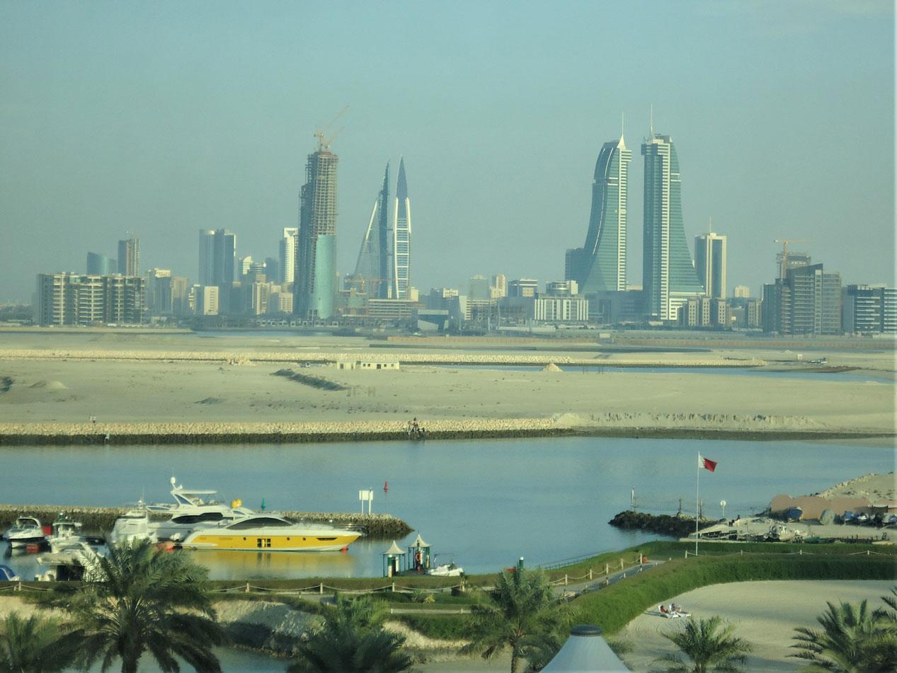 Manama bölgesinin genel manzarası