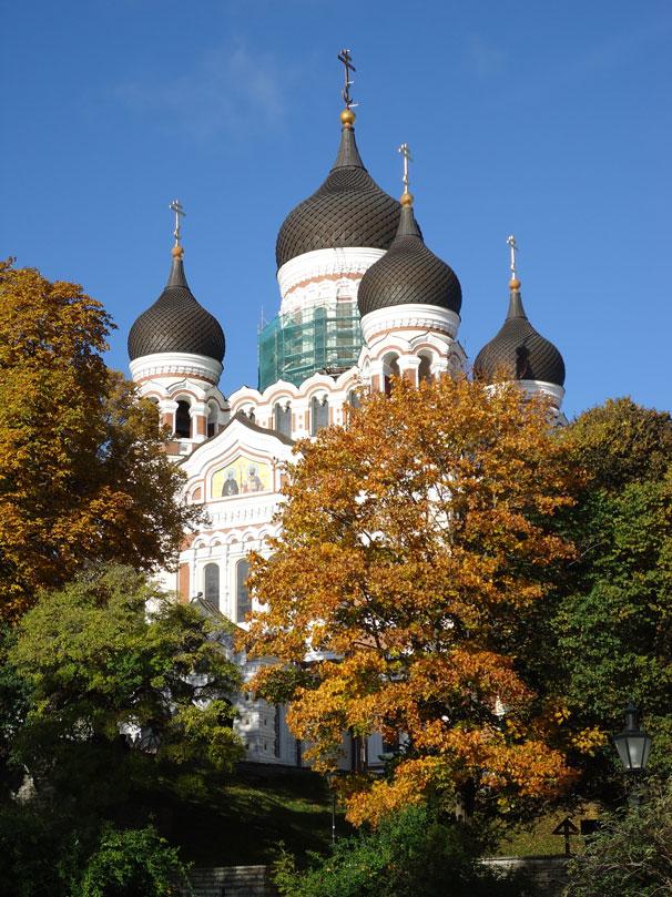 Çarlık Rusyası'ndan miras Aleksander Nevski Katedrali