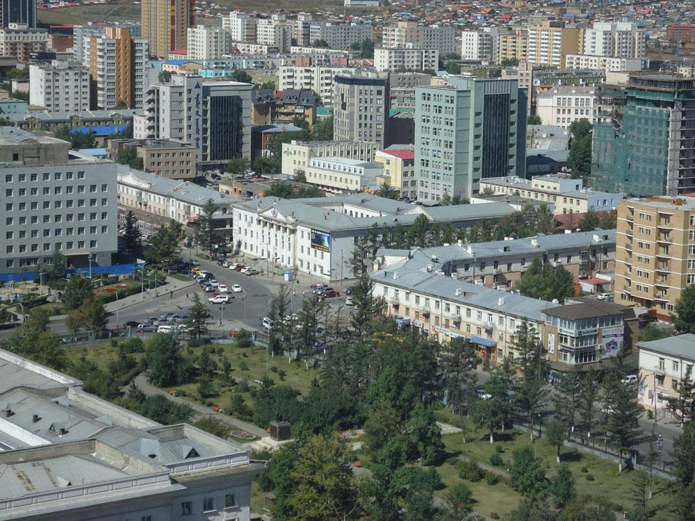 Şehir merkezinin genel görünümü