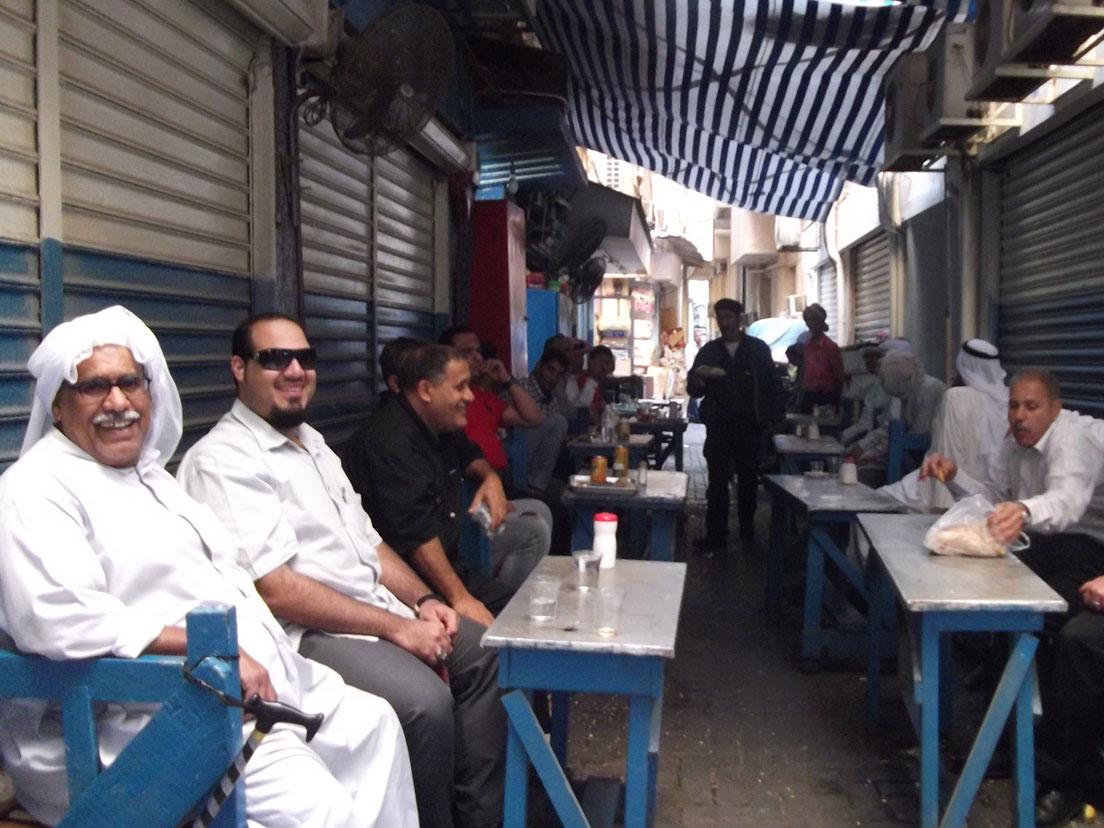 Manama Çarşısı'nda geleneksel ortam