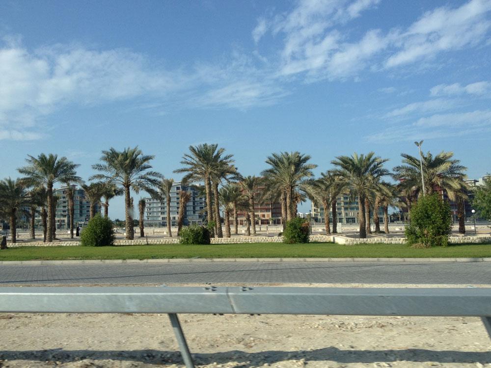 Bahreyn'den bir cadde görüntüsü