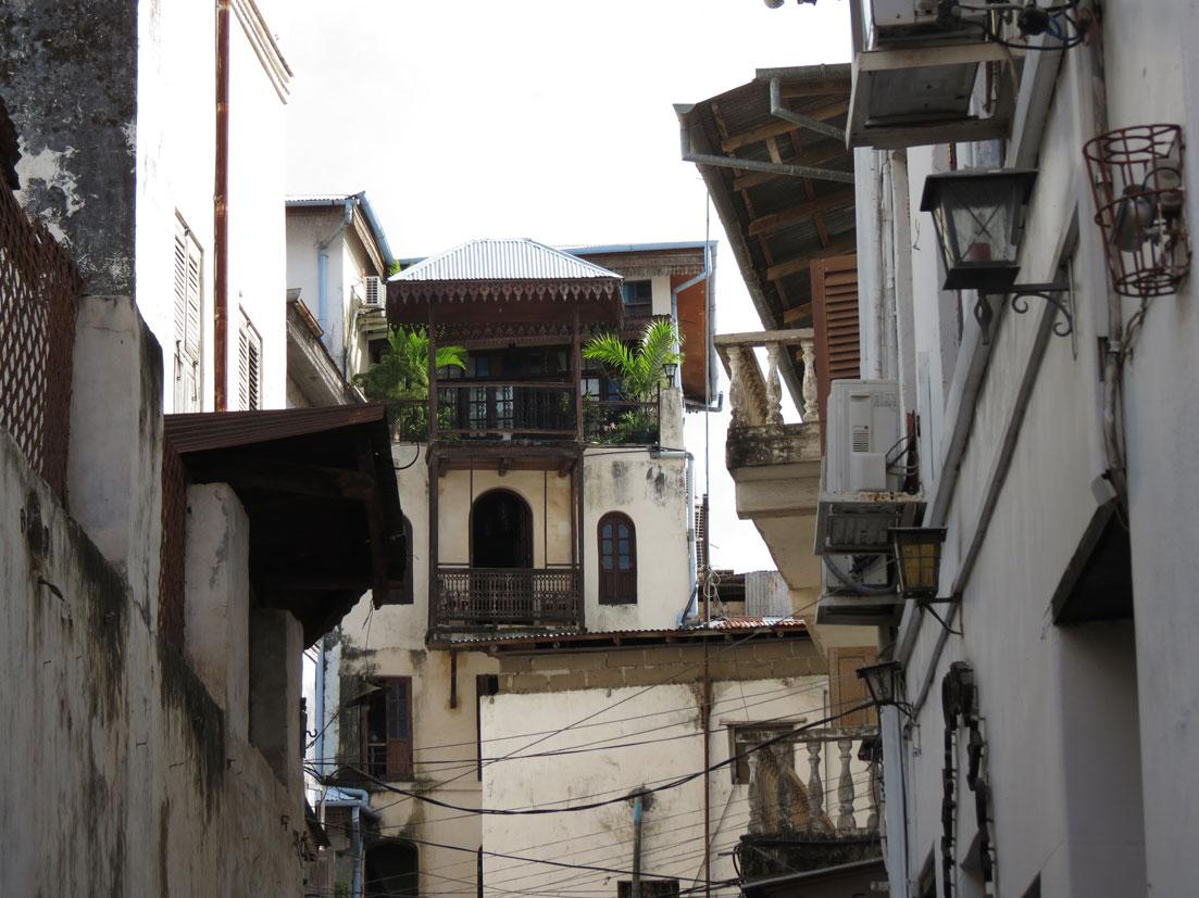 Taş Kasaba'dan bir sokak manzarası