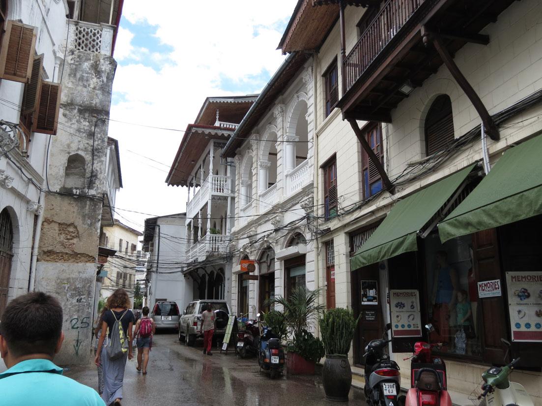 Taş Kasaba'da bir sokak manzarası