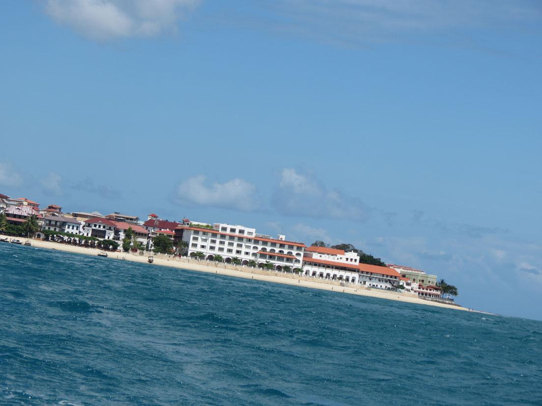 Hapishane Adası yolunda Zanzibar'a kısa bir veda