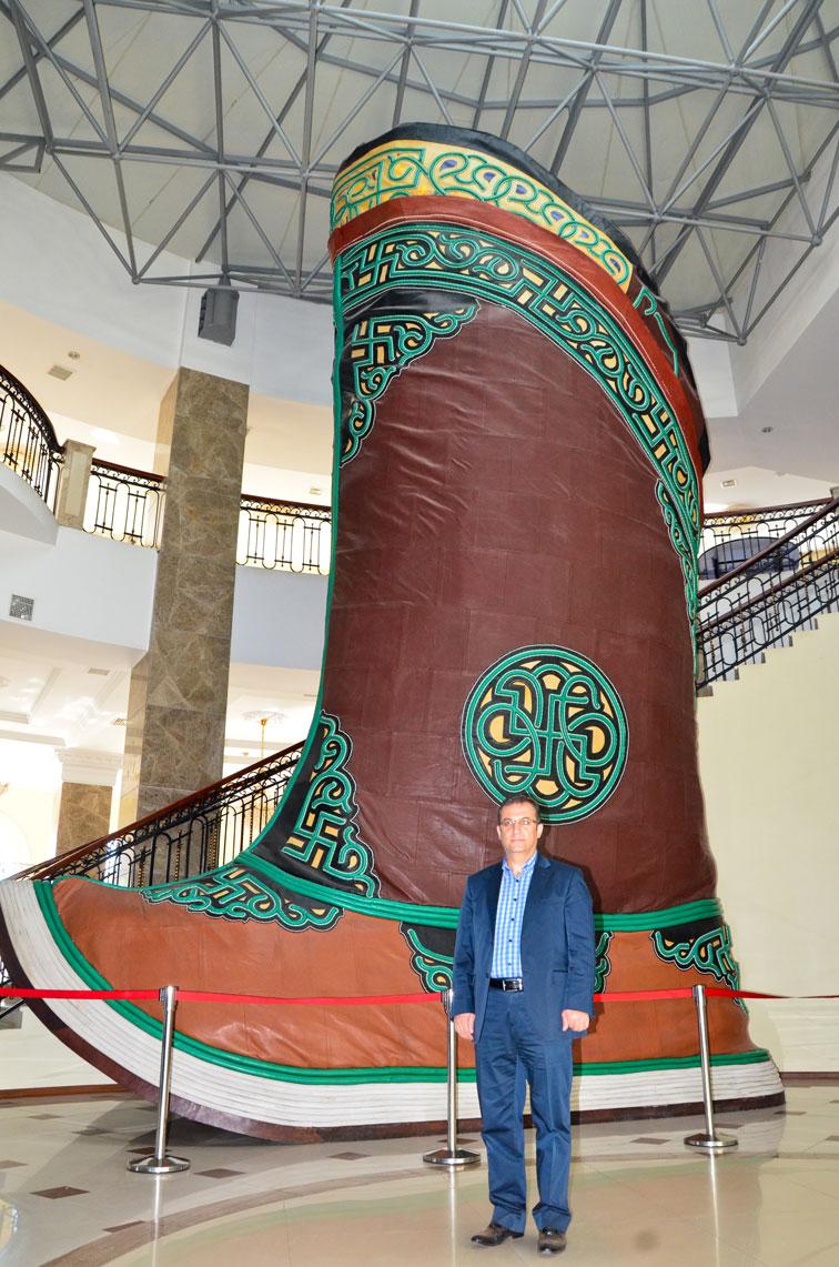 Bu Moğol çizmesi kaç numara olabilir?