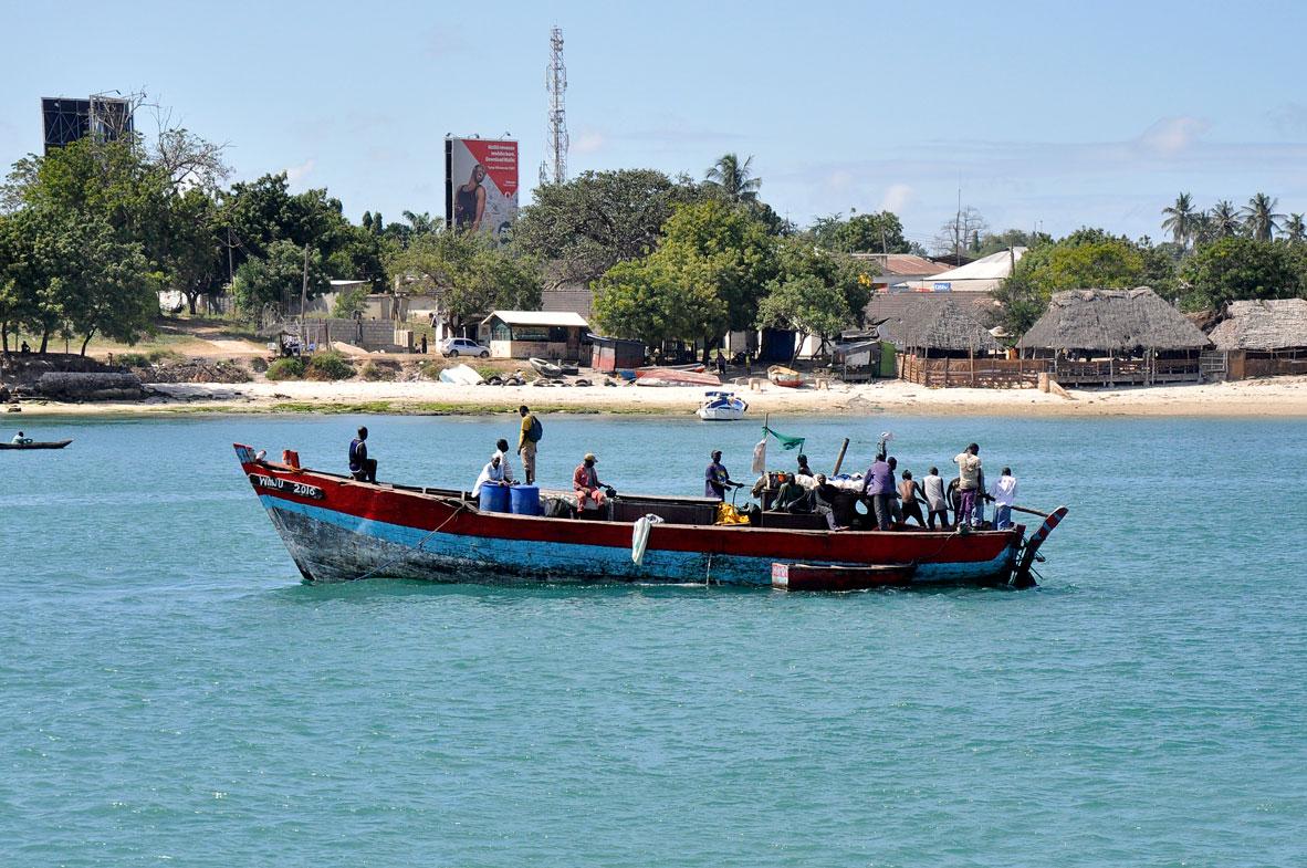 Zanzibar'ın balıkçıları
