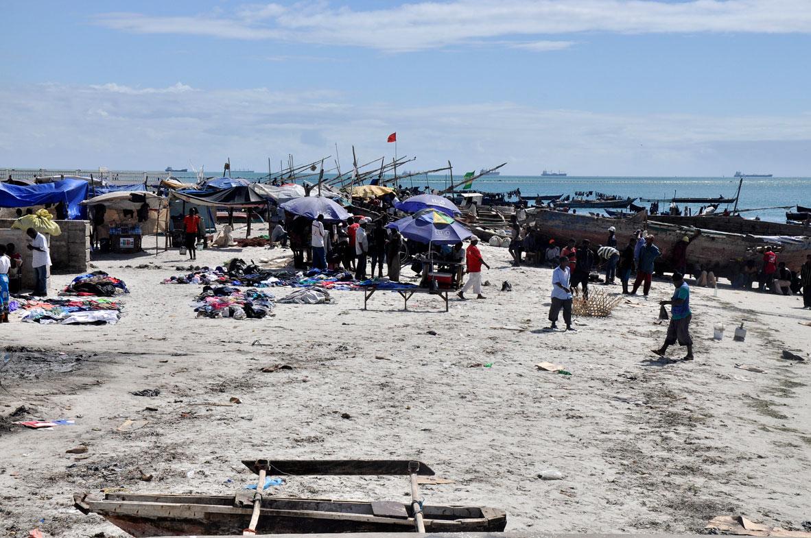 Zanzibar Limanı'nda hareketlilik