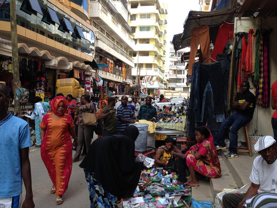 Darüsselam sokaklarından bir görünüm